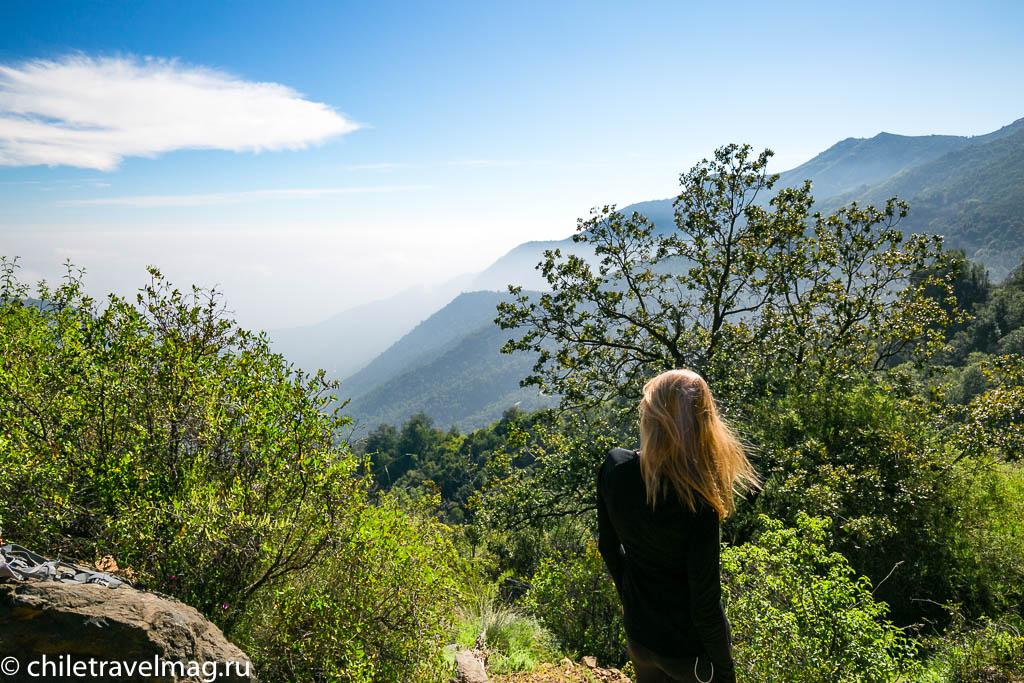 Парк Ла Кампана треккинг горы Чили3