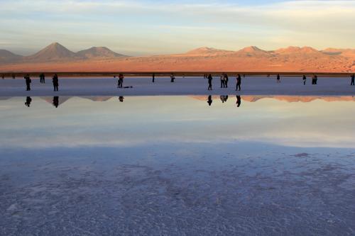 Лагуна Тебинкинче солачак Атакама в Чили-7