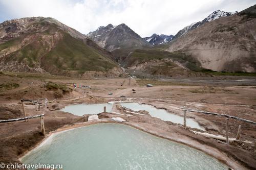 Термальные источники в Андах Чили Термас Колина11
