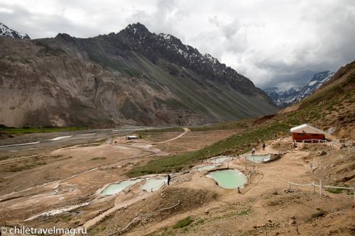 Термальные источники в Андах Чили Термас Колина2