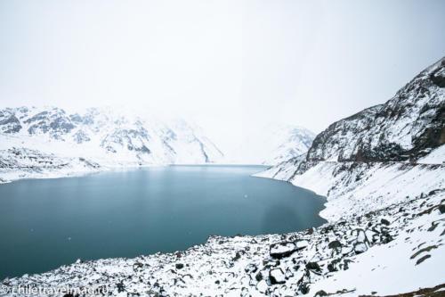 Горное водохранилище в Андах Чили16