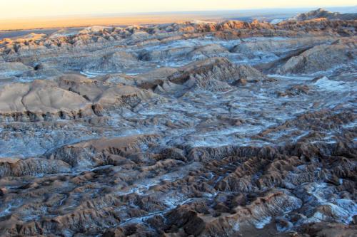 Долина Луны в пустыне Атакама, смотровая площадка-1