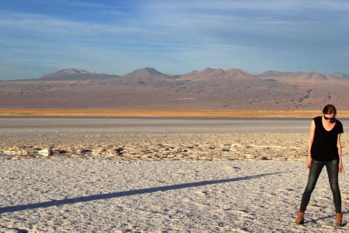Лагуна Тебинкинче солачак Атакама в Чили-1